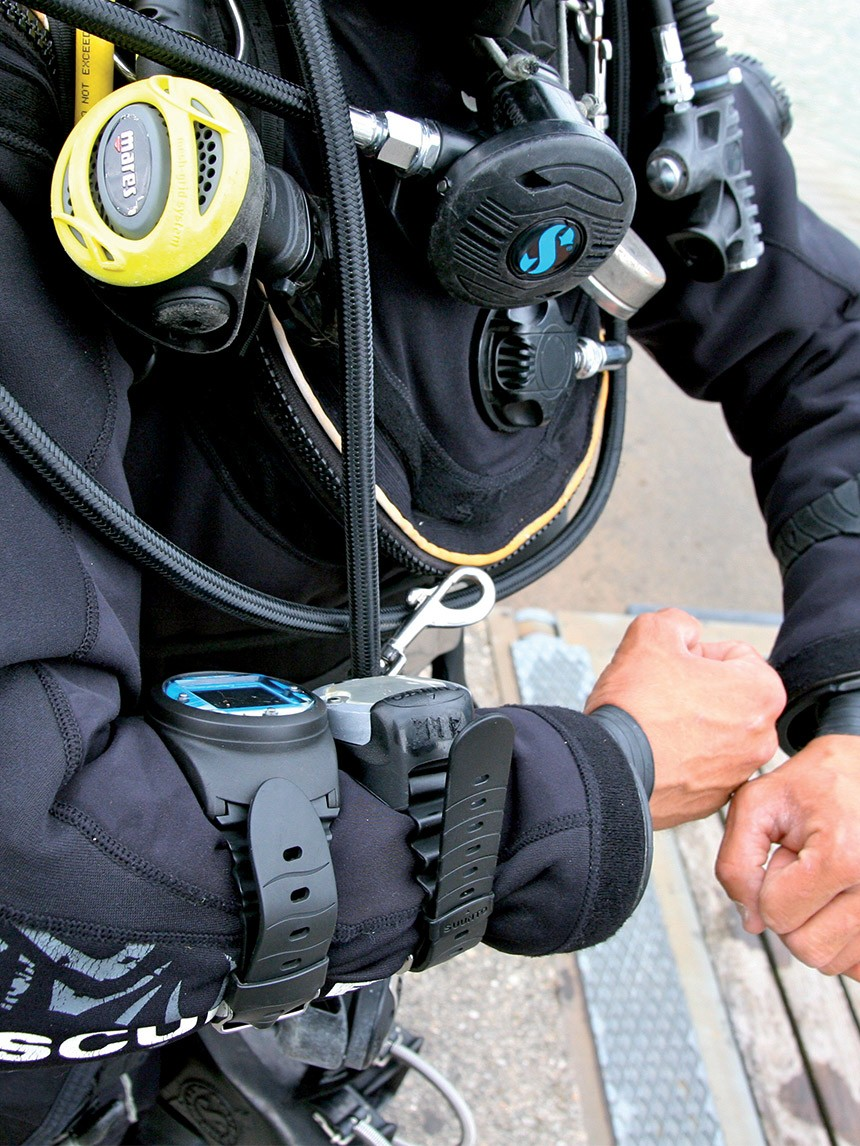 Diving beyond recreational limits