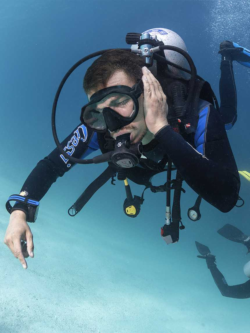 Ear Infections and Diving: a difficult relationship!