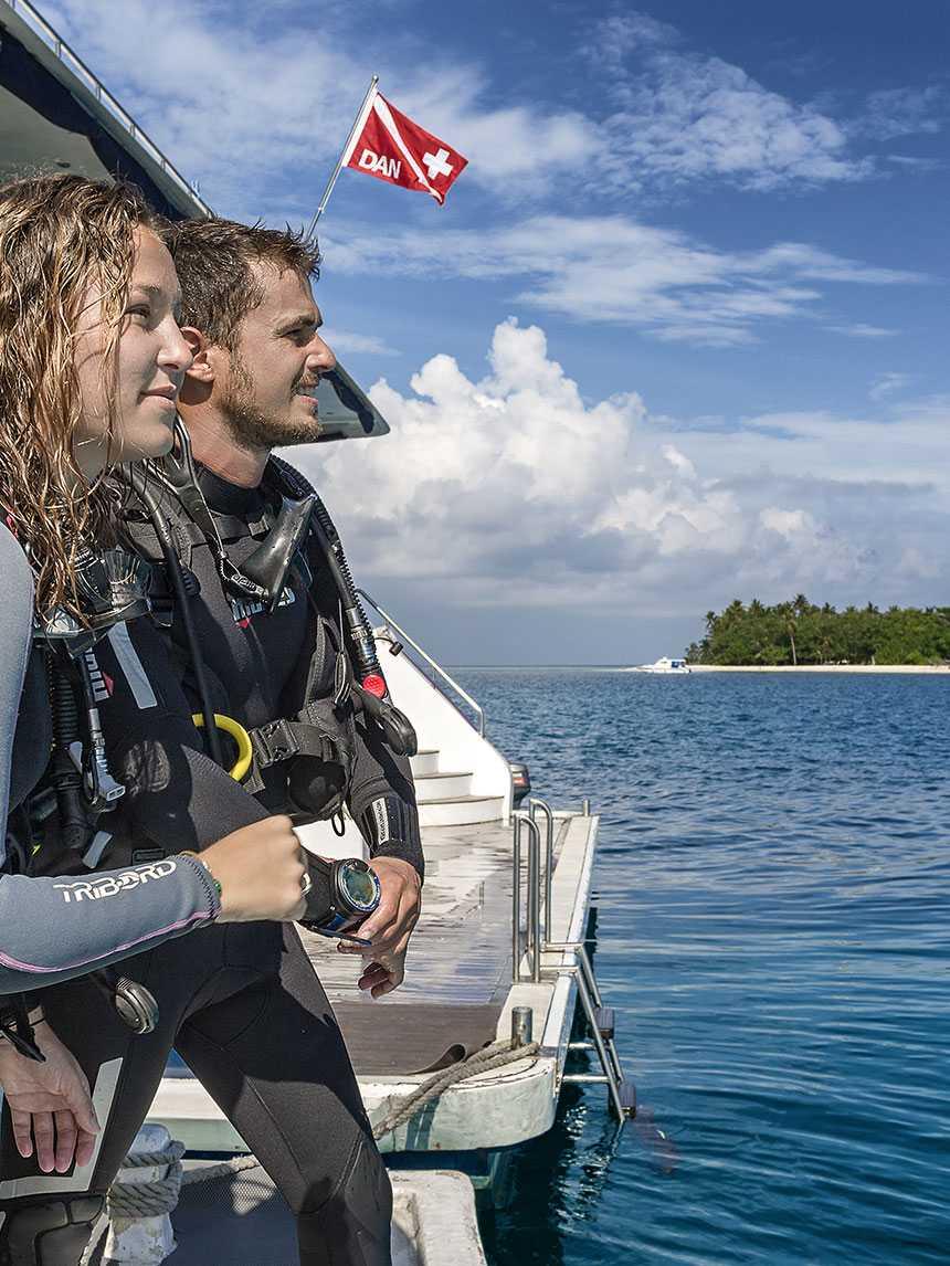 DCS na Maledivách